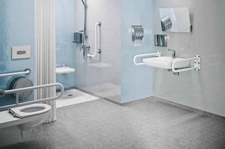 поручни и перила в ванной комнате